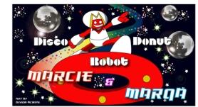 Disco Donut Robot