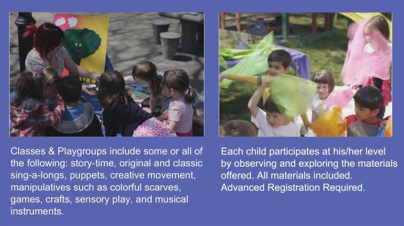 classes & playgroups