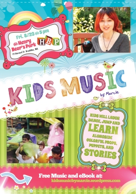 (For Web) Kids Music by Marcie- Henry Bear- Aug